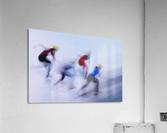 Speed Skating 1  Acrylic Print