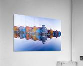 Colored homes  Acrylic Print