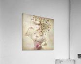 Girl of the flower garden  Acrylic Print