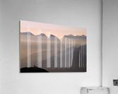 Alpine Sunset  Impression acrylique