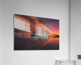 Ice & Fire  Acrylic Print