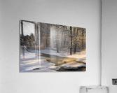 The first light  Acrylic Print