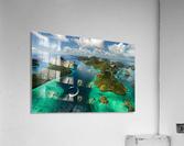 Green paradise  Acrylic Print