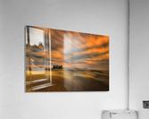 Cypresses...  Acrylic Print