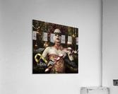 Mistress of the bright night  Acrylic Print