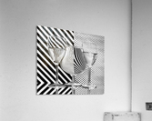 Dots and stripes  Acrylic Print