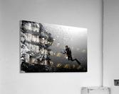 Man at work  Acrylic Print