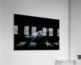 Black & Whale  Acrylic Print