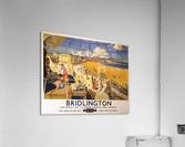 Bridlington poster Blake, F Donald 1950  Acrylic Print