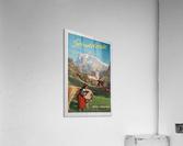 1960 Grindelwald Switzerland original vintage poster  Acrylic Print