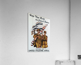 1942 United Israel appeal poster  Acrylic Print