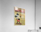 Mickey Mouse Sound Cartoon  Acrylic Print