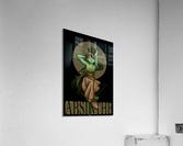 Green Fairy Absinthe Poster  Acrylic Print