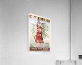 Mexico Tehuantepec vintage poster  Acrylic Print