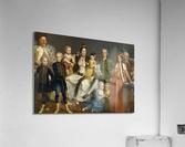 David George van Lennep and Family  Acrylic Print