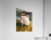 Walking in the Hills  Acrylic Print
