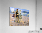 Blonde and Brunette  Acrylic Print