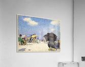 Scene by the beach  Acrylic Print