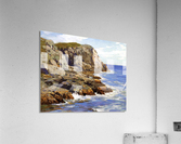 Cliffs and the sea landscape  Acrylic Print