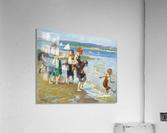 The bathing beach  Acrylic Print