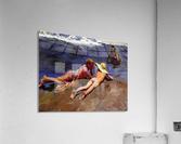 Bathers at Valencia  Acrylic Print