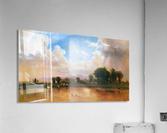 On the Plains Cache la Poudre River  Acrylic Print