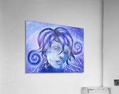 Frosinissia V1 - frozen face  Acrylic Print