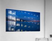 Shooting Star over Vancouver  Acrylic Print
