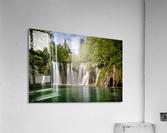 Idyllic Waterfall at Plitvice Lakes  Acrylic Print