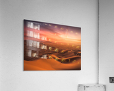 Sunset in the Desert  Acrylic Print