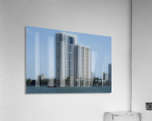 Miami Beach Buildings  Acrylic Print