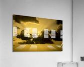 Breaking Sun  Impression acrylique