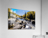 River Bed  Acrylic Print