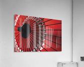 Japanese red umbrella; Kyoto, Japan  Acrylic Print
