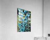 Blue jade plant; Hawaii, United States of America  Acrylic Print
