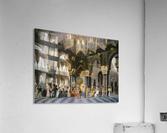 Interior of an oriental mosque  Acrylic Print