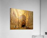 Interieur de la cathedrale Saint-Jean-des-Rois de Tolede  Acrylic Print