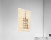 La Famille Jacquemart a Dijon  Acrylic Print