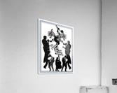 Music Feelings  Acrylic Print
