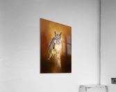 Great Horned Owl In Autumn  Acrylic Print