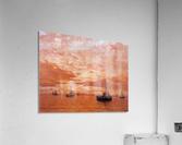 Calm Sea Sun  Acrylic Print
