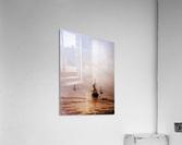Summer Evening Scheveningen Sun  Acrylic Print