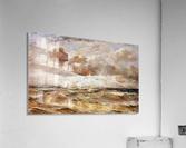 La Mer du Nord Sun  Acrylic Print