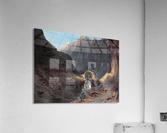 Bau der Teufelsbrucke  Acrylic Print