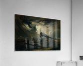 Sturmische See mit Leuchtturm  Acrylic Print