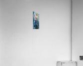 Moon and stars  Acrylic Print