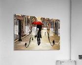 Hafanissia V1 - lady umbrella  Acrylic Print