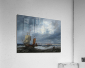 Shipping off Seaham  Acrylic Print