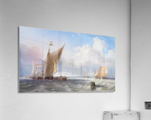 Off the Dutch Coast  Acrylic Print