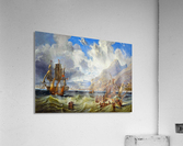 Sailing to Gibraltar  Acrylic Print